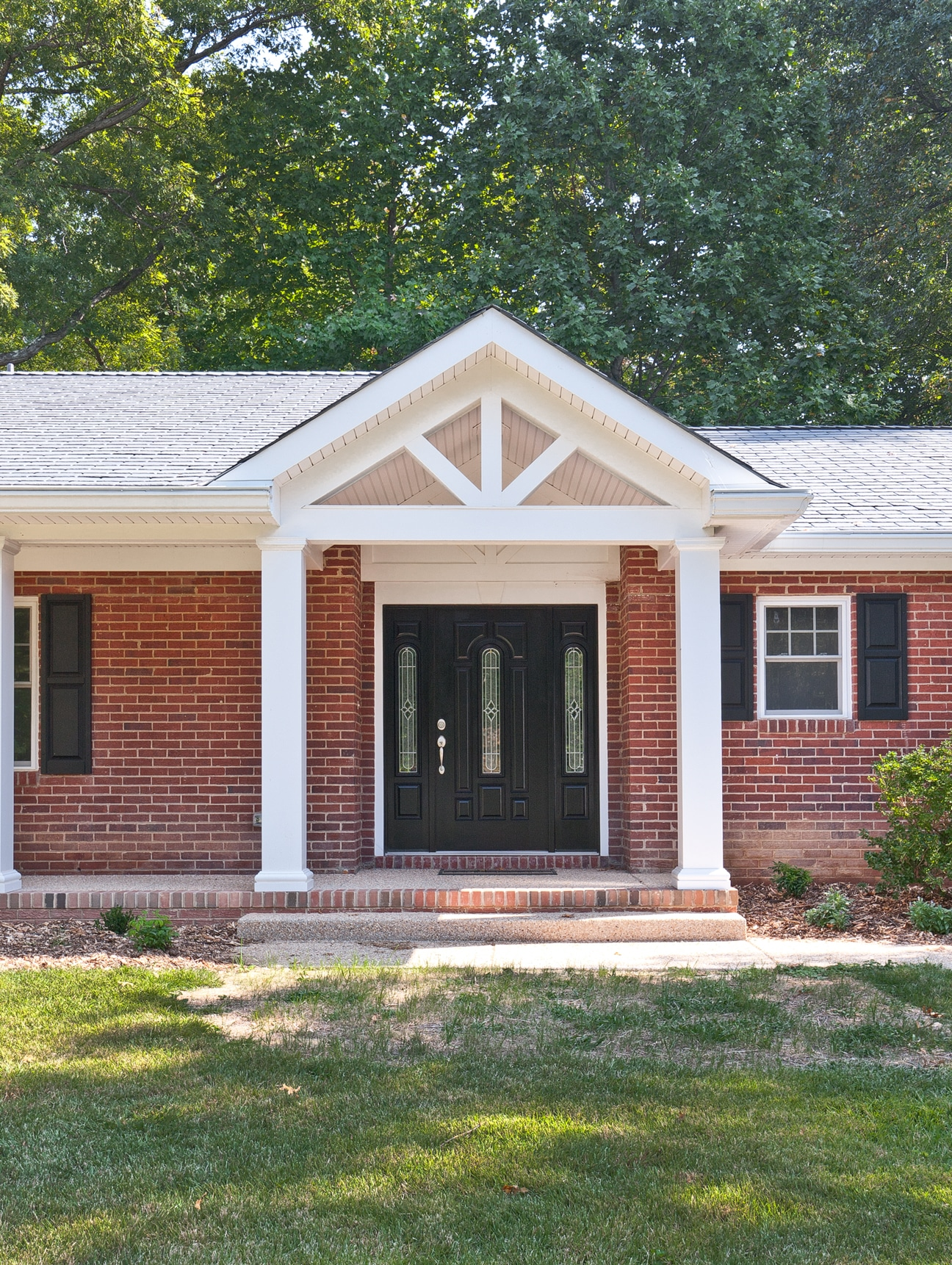 3rd Floor Addition Home Design Ideas Renovations Photos: Making An Entrance With Home Additions