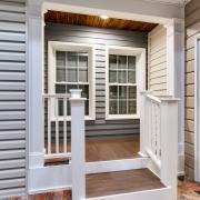 siding, windows, and doors, in showroom