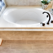 master suite drop-in tub