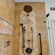 custom shower for two!