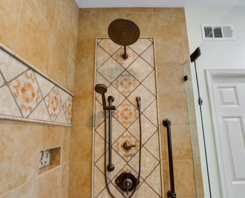 custom shower for two!