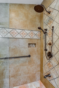 custom tile work for your bathroom remodel