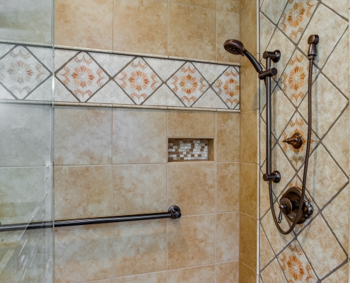 custom tile work for your bathroom remodel