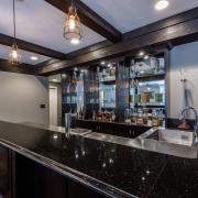 design-build basement remodel