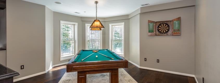 basement billiards room
