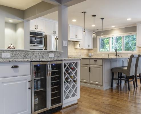 design build kitchen addition