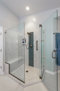 walk in shower for aging-in-place