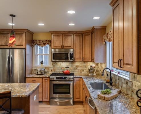 design-build kitchen remodel