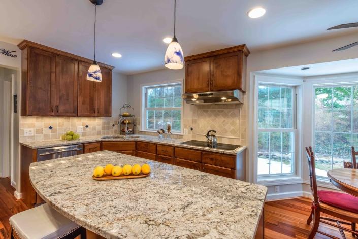 Burke kitchen remodel - after