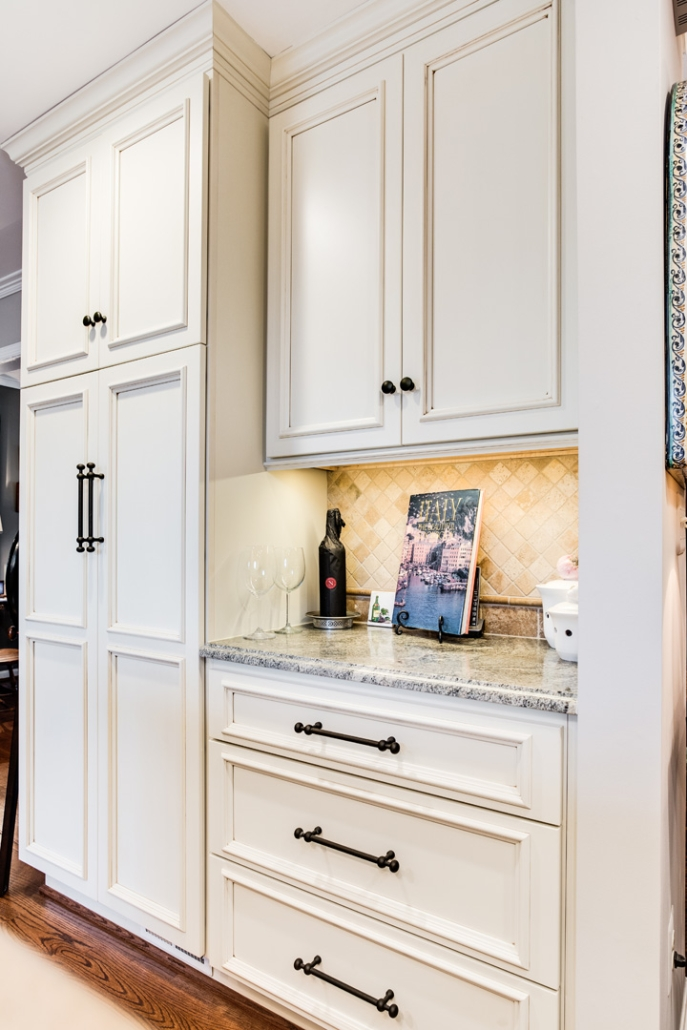 Alexandria Kitchen Remodel with Crystal Keyline cabinets built in