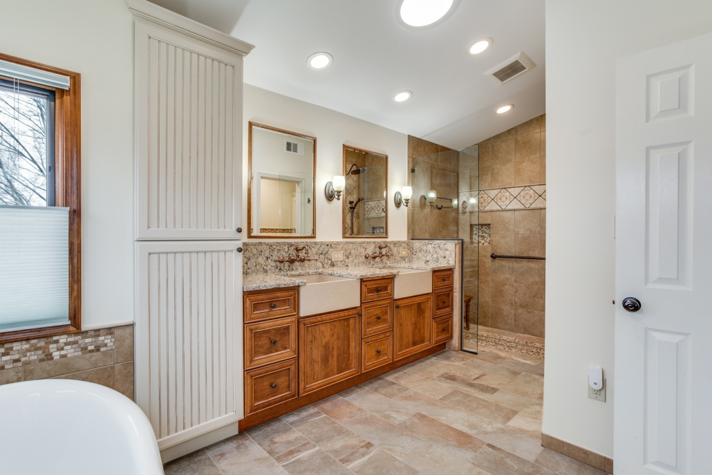 New Bathroom Remodel Foster Remodeling Company