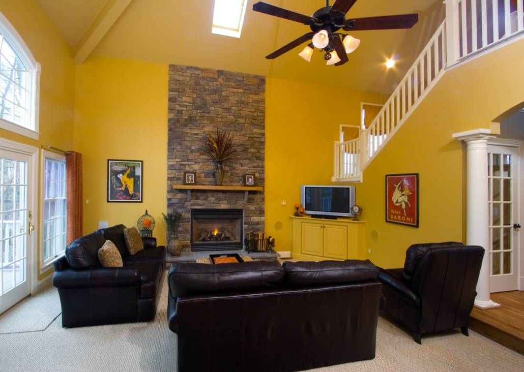 Fairfax Station Basement and Family Room