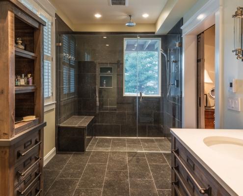 Great Falls custom Master Bath Remodel