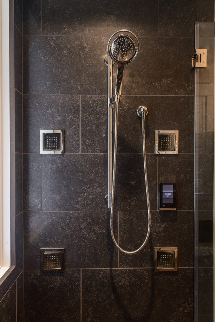 Great Falls Master Bath Shower System
