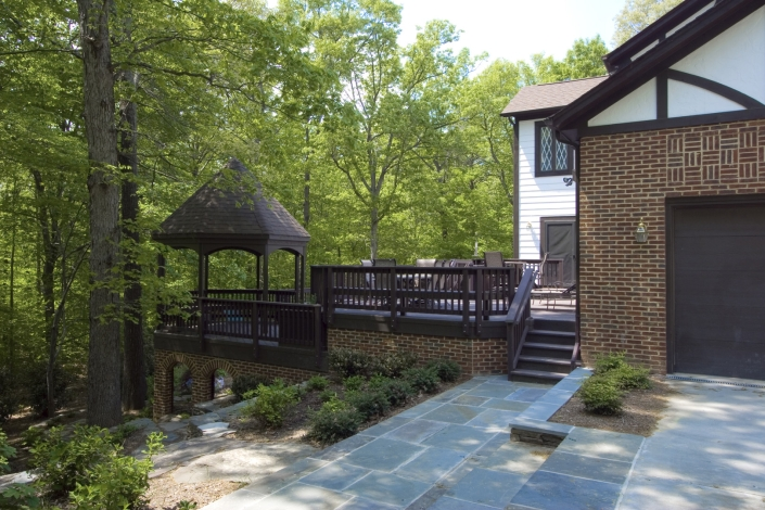 Great Falls Deck with Gazebo