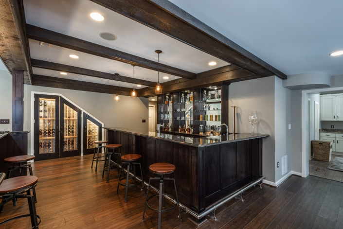 Great Falls Basement Remodel