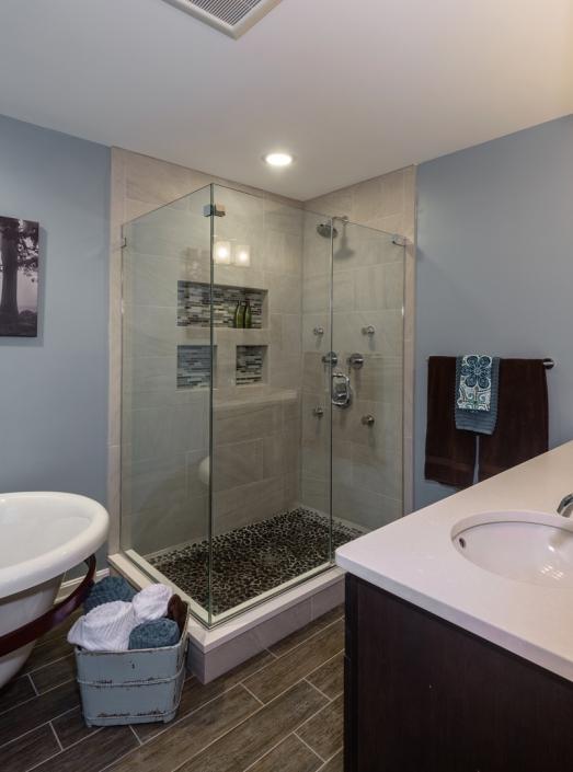 Reston Master Bath Remodel Foster Remodeling Company - Reston bathroom remodeling