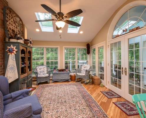 Home Additions Springfield Sunroom and Deck