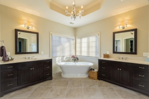 master bathroom from qualified remodeler