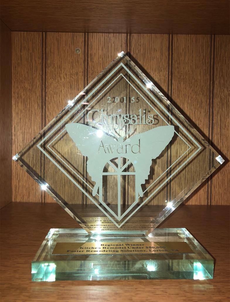 Foster Wins Chrysalis Award
