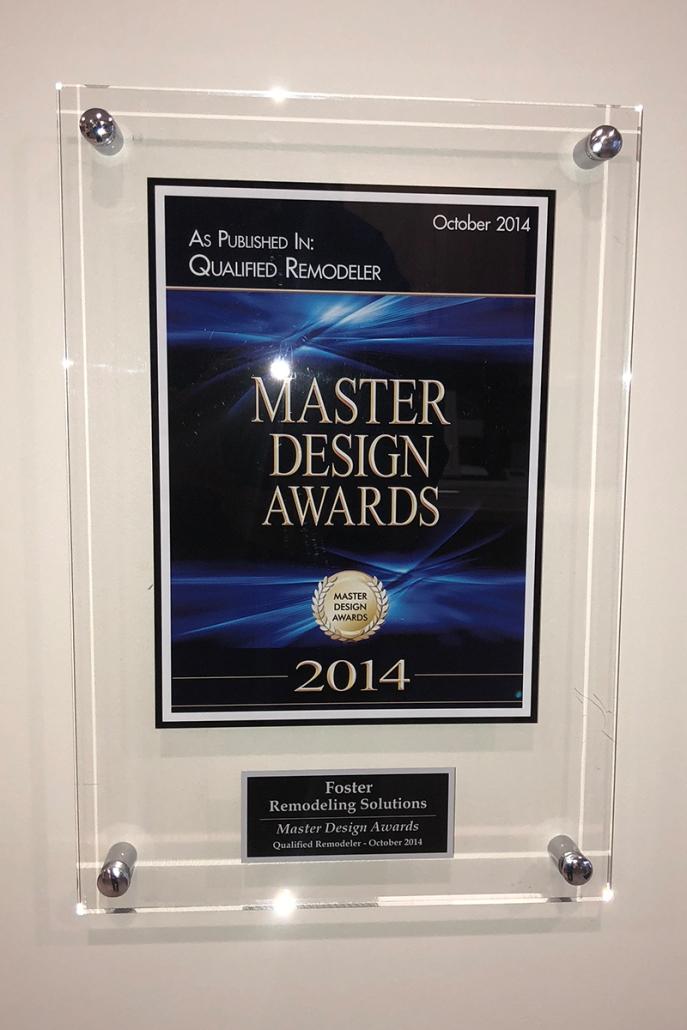 Foster Wins Master Design Award