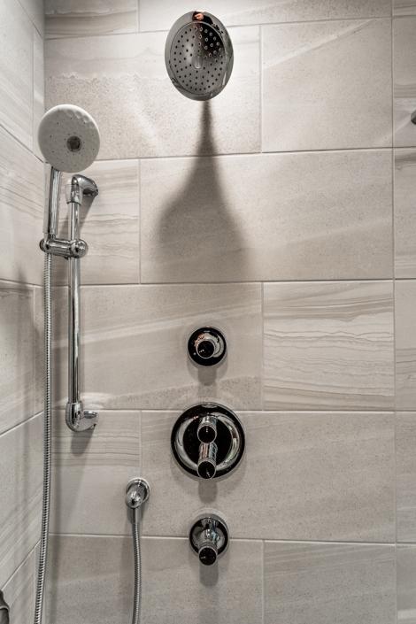 Lorton Master Bathroom Shower