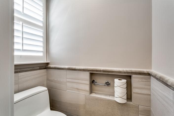 Lorton Master Bathroom - Toilet Area