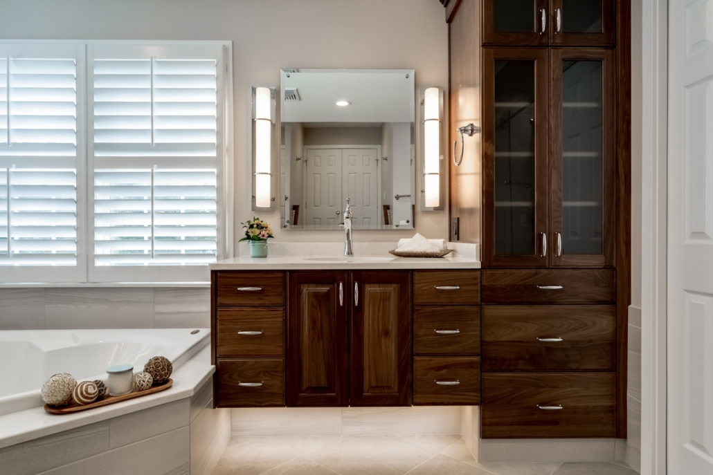 Lorton Master Bathroom - Vanity/Cabinets