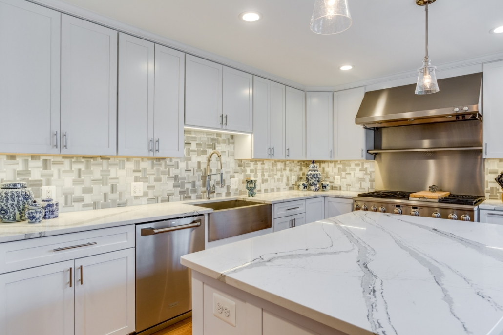 Vienna Kitchen Remodel - backsplash