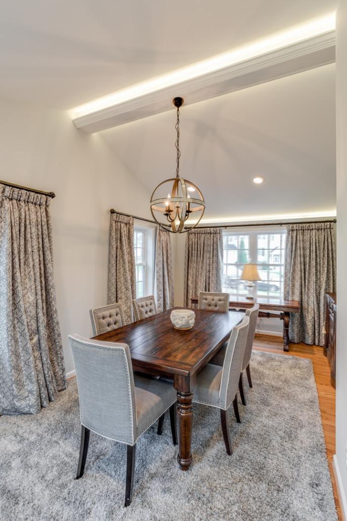 Vienna Kitchen Remodel - Dining Room update