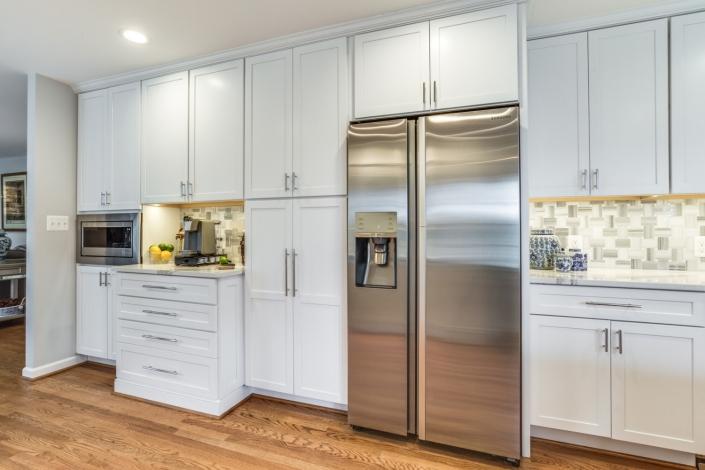 Vienna Kitchen Remodel - custom cabinetry