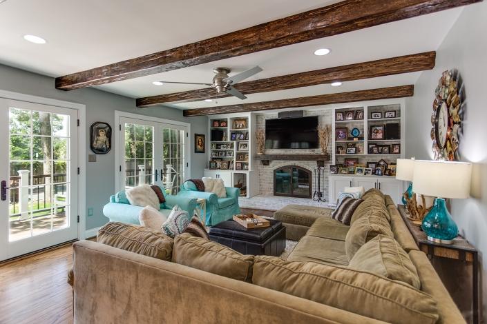 Springfield, VA Fireplace remodel