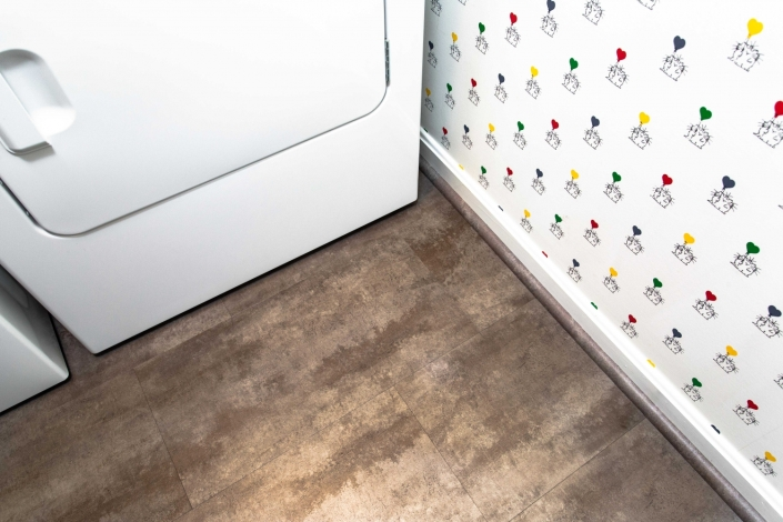 Fairfax Laundry Room flooring
