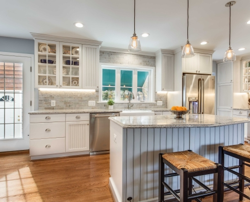 Alexandria Kitchen Remodel with Crystal Current Cabinets, Shoreview Door style