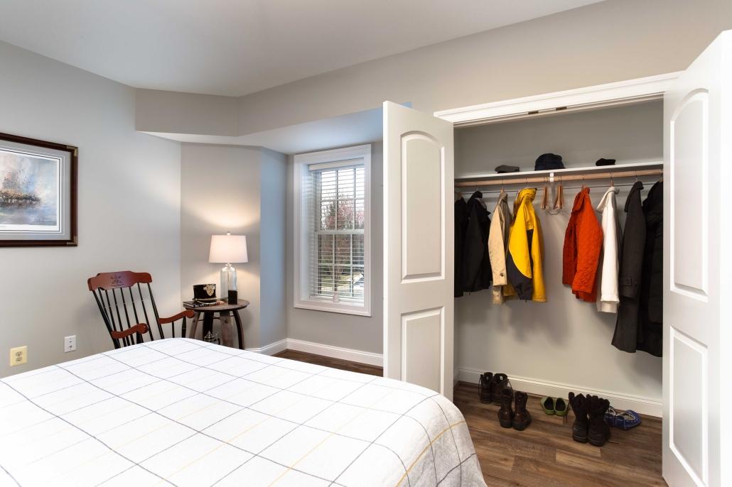 Basement Remodeling, Alexandria, VA Foster Remodeling Solutions, with Luxury Vinyl Plank flooring in European Oak