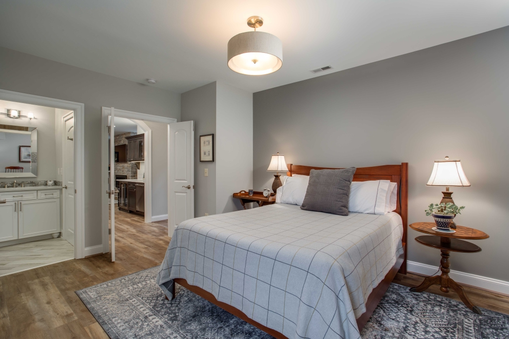 Basement Suite, in-law suite, Foster Remodeling Solutions, Alexandria, VA bedroom addition