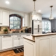 Custom kitchen remodel in Alexandria, VA with Keyline Deephaven cabinets and granite countertops_after