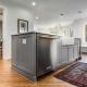 "custom Kitchen remodeling Arlington, VA with 1/4"" hardwood flooring"