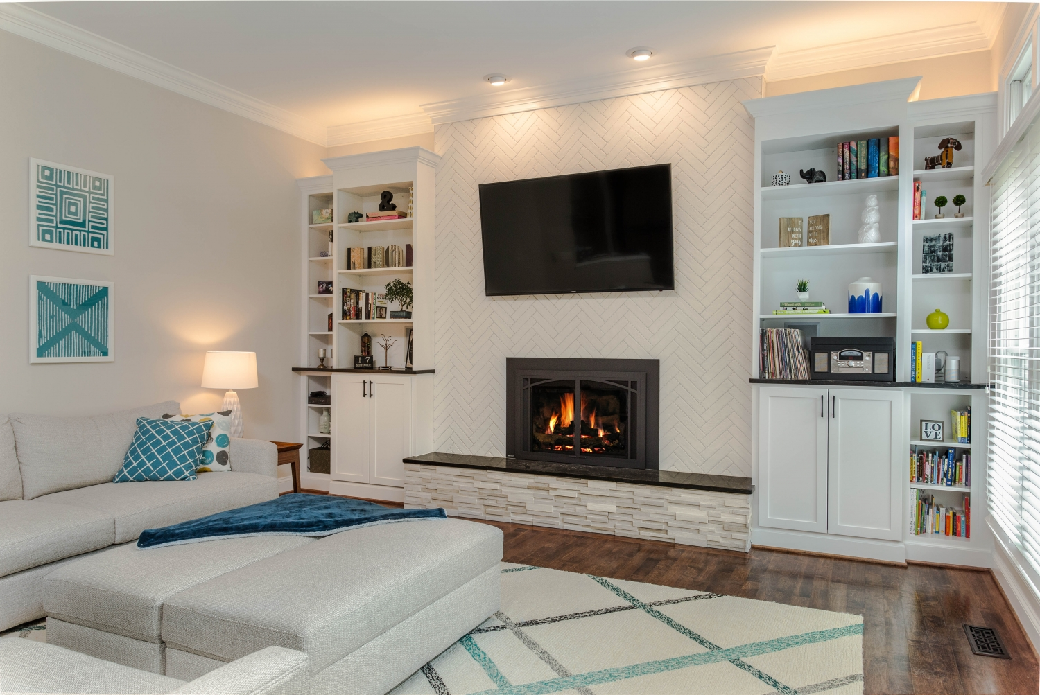 Fairfax Fireplace Updates Foster Remodeling Solutions