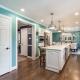Kitchen Remodel, Springfield, VA with Crystal cabinets and Silestone Calcutta countertops