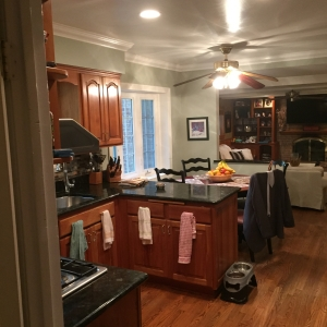 Kitchen Remodeling, old layout, kitchen, dining, before photo