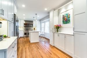 custom kitchen remodel, Vienna, VA with Cambria Brittanica countertops