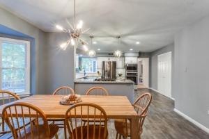 kitchen remodel Woodbridge VA with Happy Feet Extreme cork LVT flooring