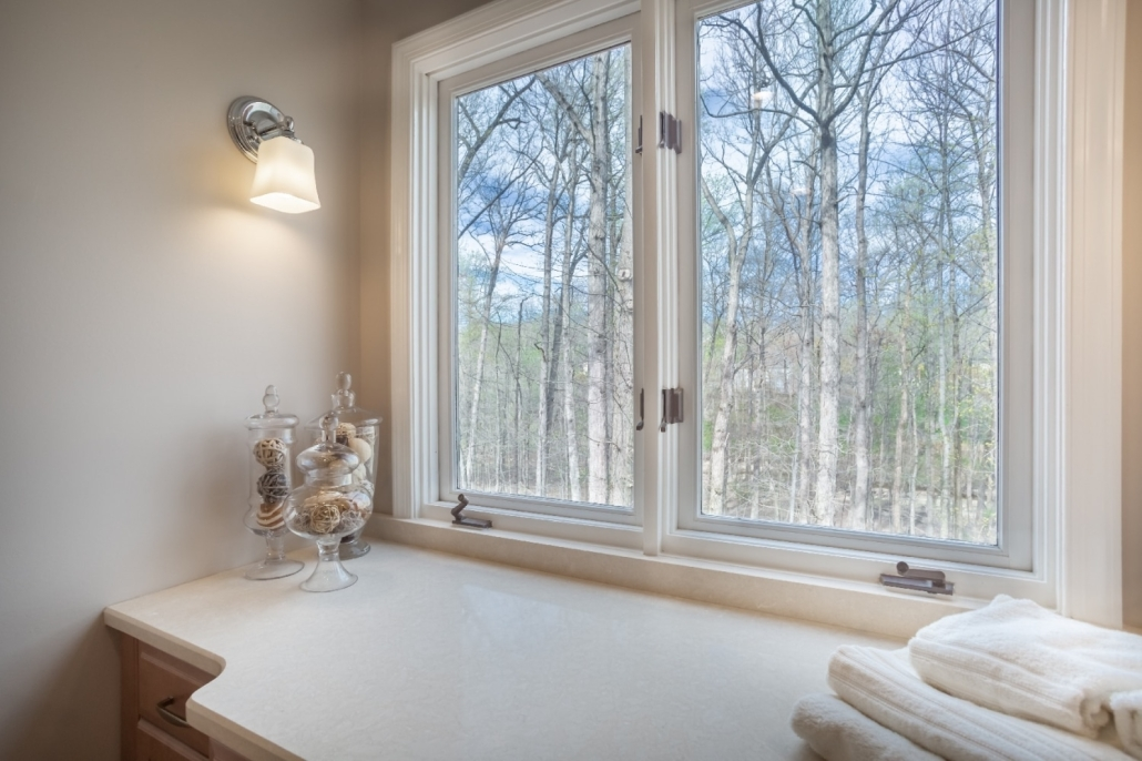 Aging in Place Bathroom Remodel Woodbridge with Cambria Fairbourne countertop