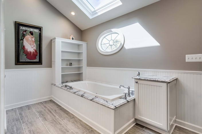 Fairfax Station Master Bath Remodel with Mirabelle Key West soaking tub