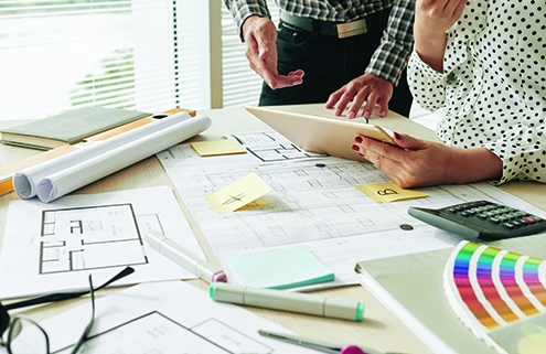 Planning the perfect remodel, icon, designers