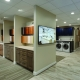 Foster Remodeling showroom with cabinet and countertop displays