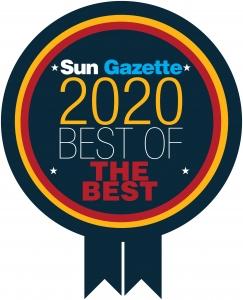 sunGazette Best of 2020 award
