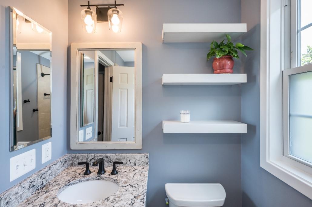 Foster Remodeling custom bath remodel in Arlington