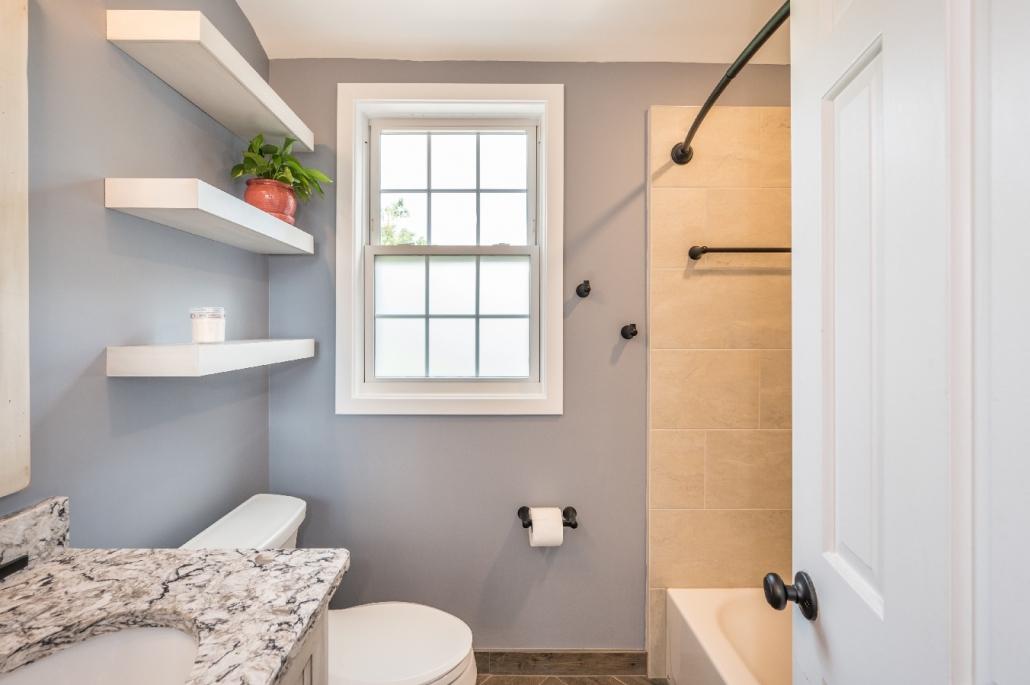 Charming bathroom remodel in Arlington, VA